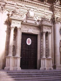Baroque, baroque, baroque at Lecce