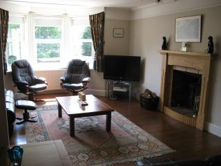 Sky T.V., DVD, wood burning stove, books and games to enjoy in the lounge