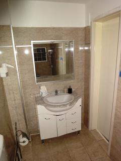 mirror view bathroom