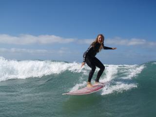 Surfcamp WaveSisters Lanzarote, Caleta de Famara