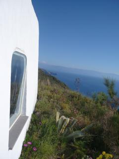 view on  the etna and vulcano island