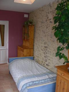 Downstairs bedroom view 1