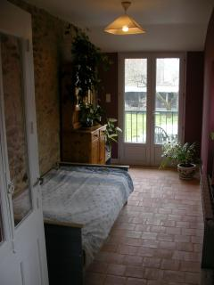 Downstairs bedroom view 2