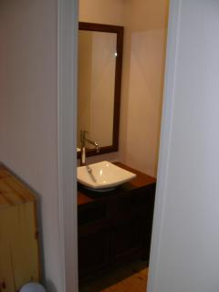 Upstairs shower room view 1