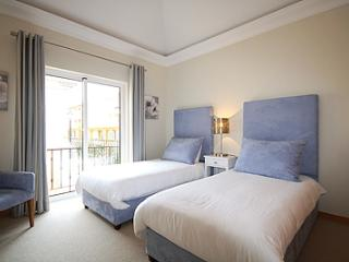 GUEST BEDROOM WHICH EXTENDS ONTO OWN LARGE TERRACE
