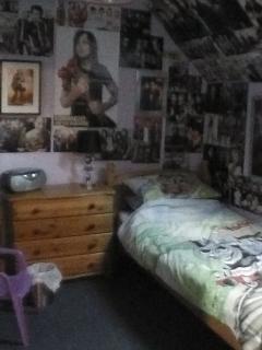 Upstairs teenage bedroom