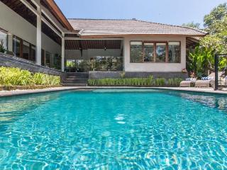 3 BR Tropical River View Villa in Canggu