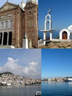The biggest north greek Island Lesbos - just across the water