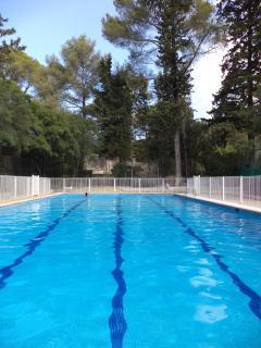 F2 dans une residence avec piscine, Montpellier