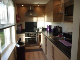 fully fitted kitchen area