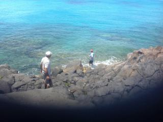 Take in a spot of fishing at the beautiful water front in Playa Blanca.Laze around with you fishing