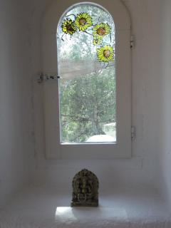 small window and ganesha