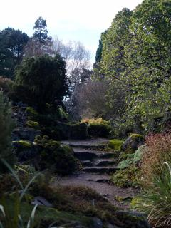 The Royal Botanic garden in Edinburgh, nice to visit all year round.  Free entry.