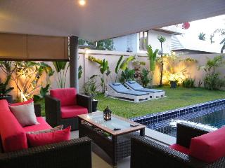Outside Lounge areas
