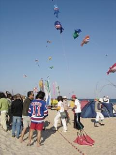 Kite festival at Barril