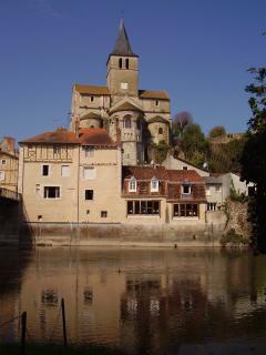 A view of Montmorillon, the 'Cite de l'Ecrit'