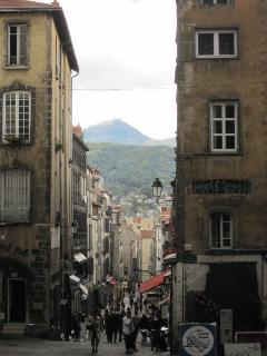 View of the Puy de Dome from Clermont Ferrand