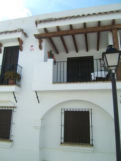 Fachada de la terraza