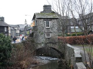 House on the bridge Ambleside