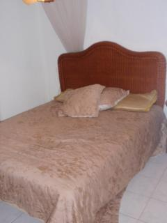 Bedroom- large comfortable double bed