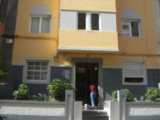 Entrance to the apartment is located in a quiet area but close to everything.