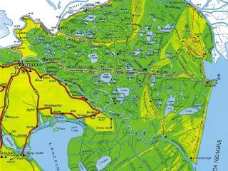 Danube Delta Map