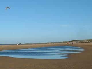 North Norfolk's beaches are incredible, including the one at Old Hunstanton