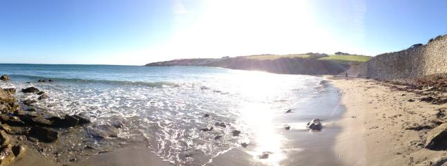 Porthcurnick Beach (5 minute walk away!)