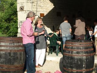 L'Ecurie at  Le Manoir de La Foye,, Aulnay