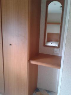 Cupboard in the main bedroom