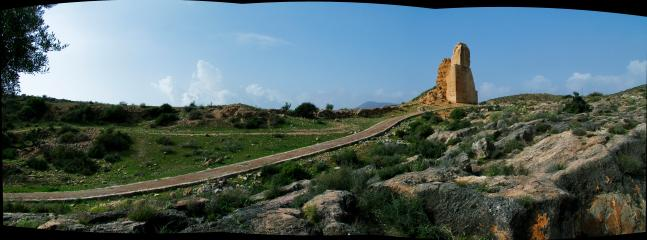 Zona minera de Berja