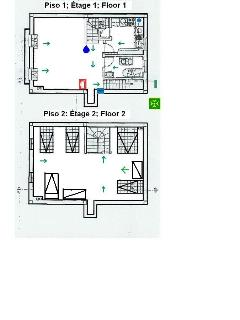 Plant - first and second floor