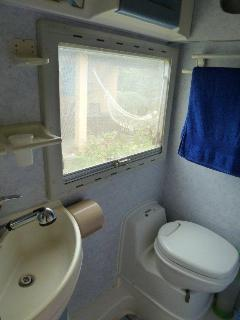 Shower-room with toilets