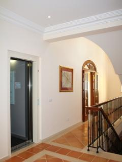 THE VILLA HAS A LIFT. YOU ARE ABLE TO ACCESS ALL FLOORS WITH EASE