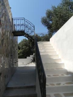 scala per la terrazza