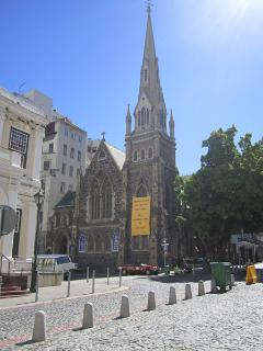 The church at Greenmarket square