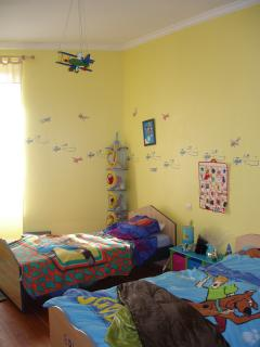 Children's twin bedroom