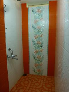 Beautiful shower room,hot & cold water