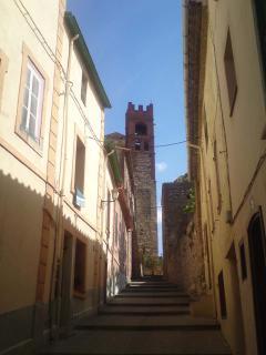 Elne- Cathedral steps