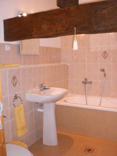 One of two family bathrooms.(Two shower rooms also provided)