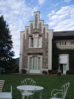 Villa Allegra - Casa Balè garden area