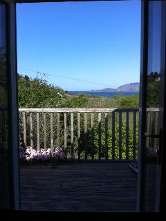 Master Bedroom Balcony with view to mouth of Lough Swilly