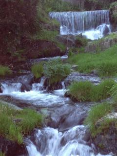 rio Arrago a su paso por Robledillo de Gata