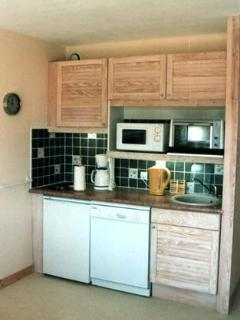Kitchen - with dishwasher, microwave, cafetiere, kettle, oven, electric hob, etc.