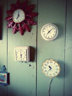 Our Retro Clock Collection