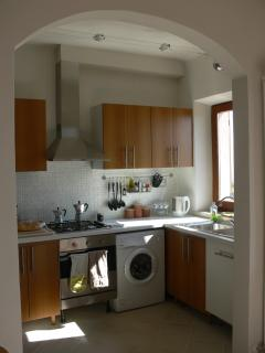 Kitchen corner with dishwasher and washing machine