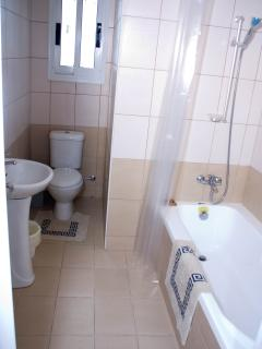 First floor main bathroom.  Property also fitted with toilet on ground floor.