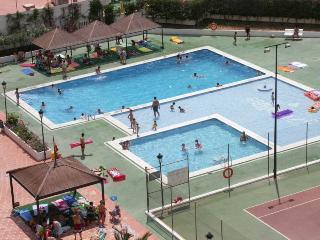 Central Levante 2-bed apt., Benidorm