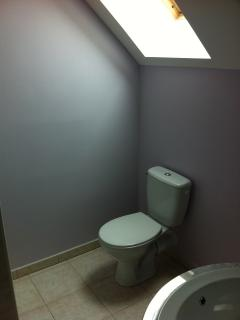 The bathroom of bedroom 2