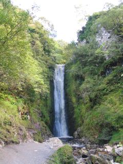 Glenevin waterfall near Clonmanny